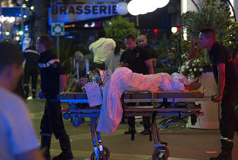 Terrorist act committed in Nice