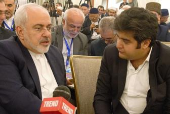 Zarif: Iran's relations with Azerbaijan grew by degrees both during, after nuke talks (exclusive)