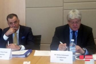 PACE co-rapporteurs issue statement after their visit to Azerbaijan