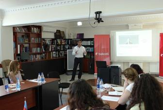 "Bakcell has organized yet another workshop on ""the introduction to mobile communications"""