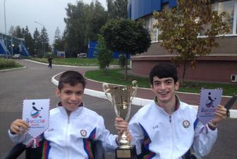 Teenage paralympians have returned to motherland with the victory