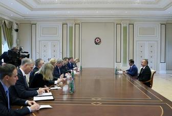 Ilham Aliyev received EU Eastern Partnership ambassadors-at-large