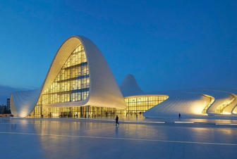 CNN lists Heydar Aliyev Center among world's impressive cultural spaces