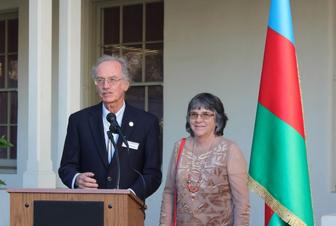 Azerbaijan's National Flag Day celebrated in Monterey, California