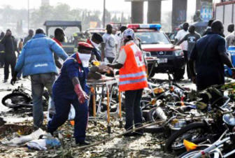 At least 50 killed by suicide attack at a mosque in Nigeria