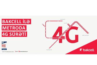 Bakcell introduces 4G service in Baku subway the first time in Azerbaijan