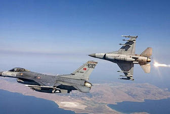 Turkish Air Force attacking PKK positions in northern Iraq