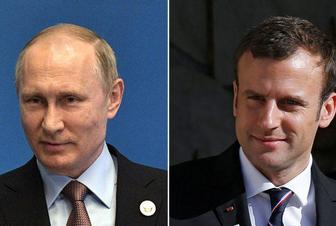 Russia's Putin, France's Macron discuss Iran deal by phone