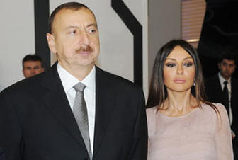 President Ilham Aliyev, First Lady Mehriban Aliyeva arrive in Aghdam for visit