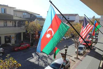 Monterey City of California honors100th anniversary of Azerbaijan's National Flag