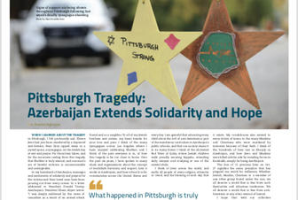 U.S. newspaper publishes Consul General Nasimi Aghayev's article against racism, bigotry and xenophobia