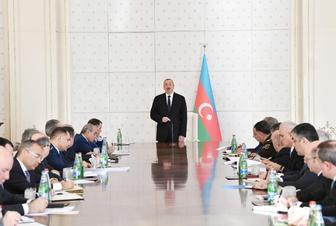 Azerbaijani president chairs meeting of Cabinet of Ministers