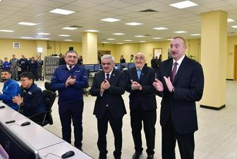Ilham Aliyev attends inauguration of SOCAR carbamide plant in Sumgayit city