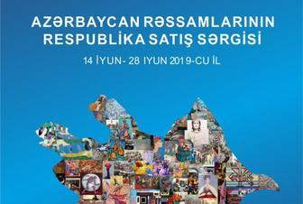 """Rəssamların əsərləri satışa çıxarılacaq- """"Respublika Satış Sərgisi"""""""