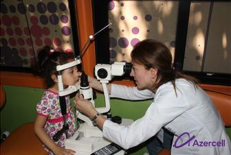 More than 230 people benefited from the free ophthalmological inspections organized by Azercell